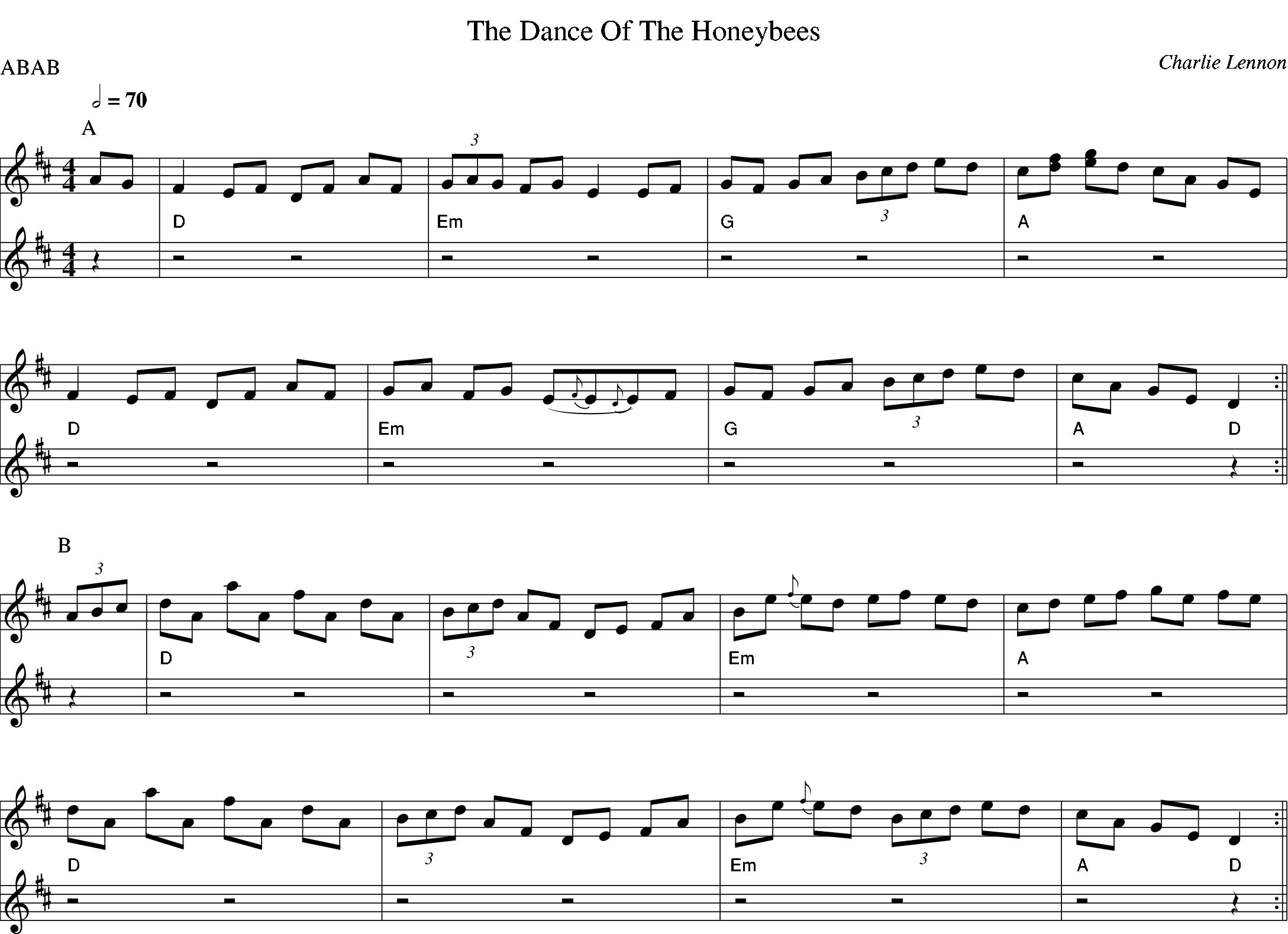 The Dance of the Honeybees